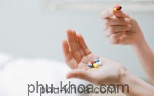 thuốc uống trong chu kỳ kinh nguyệt